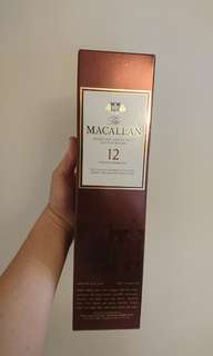 Macallan 12 year 威士忌(700ml)