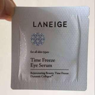 laneige time freeze eye serum sample 1 ml