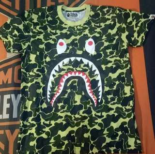 A bathing ape bape army shirt