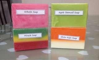 Scrap beauty soap