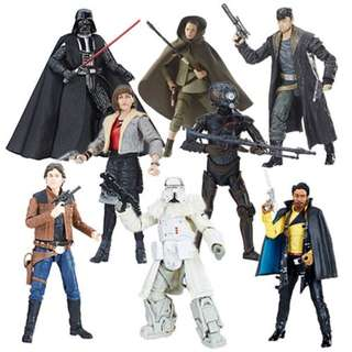 [Pre-order] Star Wars The Black Series 6-Inch Action Figure Wave 17 (Complete Set of 8)