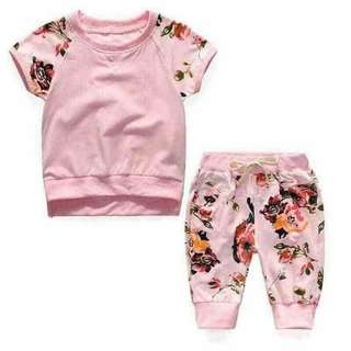 NEW ARRIVAL:FLORAL TERNO