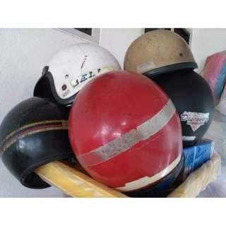 Vintage Stv Bell Sgv Nova Arc Fiberglass Helmet