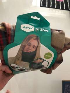 Travel pillow support