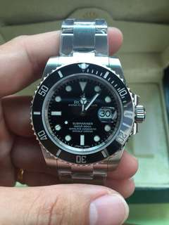 Rolex Submariner Black Ceramic Bezel