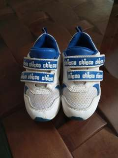 Chicco white sneakers for boys