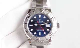 Rolex Yatch-Master Blue Dial Ceramic Bezel Red Hand