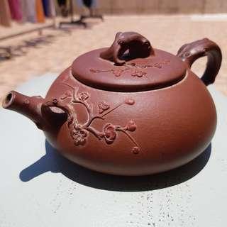 吳暗華手製紫砂壺(養壺)