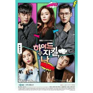 DVD Drama Korea Hyde Jekyll and me Korean Movie Film Kaset Roman Romance Comedy Physical