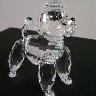 51 Swarovski Crystal - Large Poodle