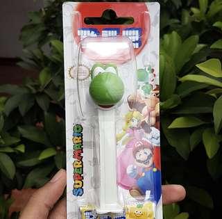 PEZ dispenser Super Mario Edition: Yoshi