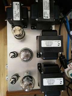 300B vacuum tubes amplifier
