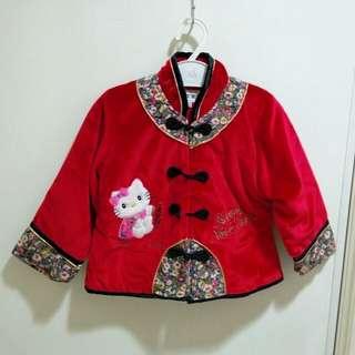 🚚 中國風KT紅外套