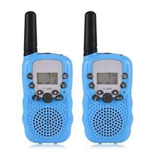 2 PCS Walkie Talkies 3KM Range 22 Channel 2-Way Radio Interphone