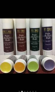 Creations Spa Essential Pain relief rub stick