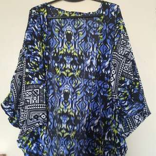 Azter Print Cover-up