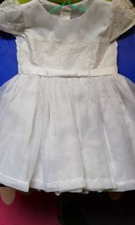 White Dress USED ONCE