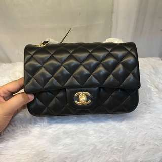 Authentic grade CHANEL CLASSIC DOUBLE FLAP MINI