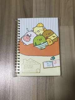 🎈BNIP INSTOCK Sumikko Gurashi A5 Notebook with Gold Binder [FREE NORMAL MAILING ✉️]