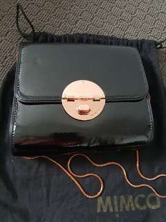 Mimco turnlock hip bag