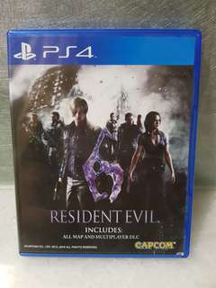 🚚 PS4~惡靈古堡6 RESIDENT EVIL 6 英文美版