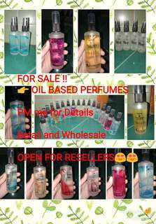 Authentic OiL Based Perfumes