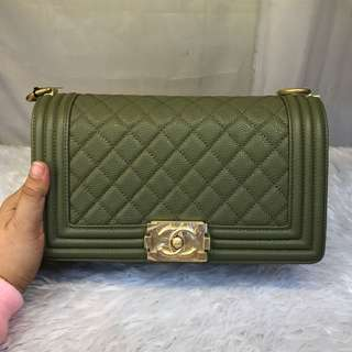 Authentic grade CHANEL LEBOY