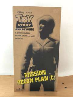 HOW2WORK 3MIX toy story and beyond sergeant
