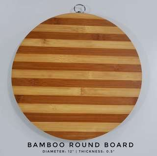 Personalized Bamboo Board