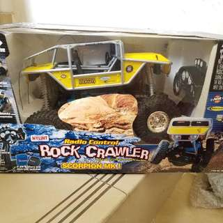 收藏品(車) RC 1:18 Rock Crawler,從未開封, 盒面有少許歲月痕跡