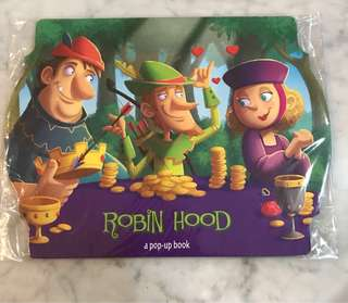 Buku anak Robin hood (pop up book ) by the Clever Factory