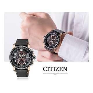【負法律責任】星辰CITIZEN 光動能三眼腕錶 基隆大錶哥 男錶 AT8126-02E Eco-Drive