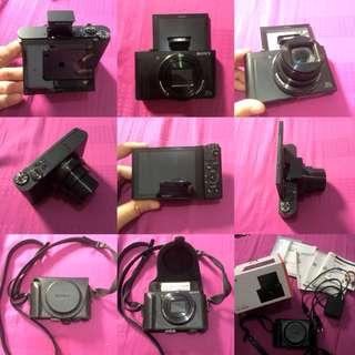 Camera mirrorless SONY Cyber-shot DSC-WX500