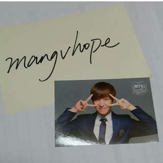 Bts小卡 JHOPE summer package 2014