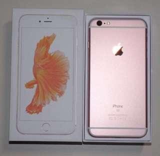 Iphone6s Plus 128gb玫瑰金 rose gold