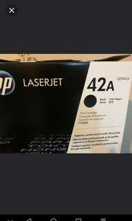 HP 42A Original Sealed Boxed Toner