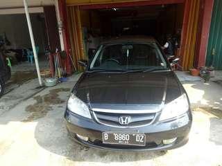 Civic VTI S matic hitam 2005 rawatan tangan pertama