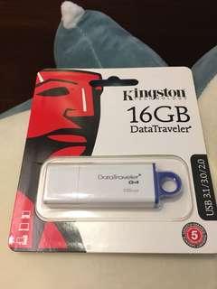 Kingston 隨身碟 USB 16G