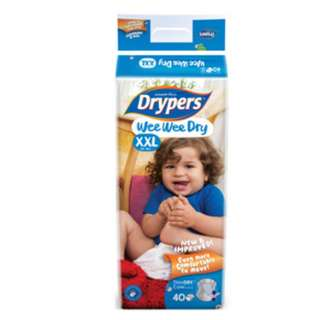 Drypers Wee Wee Dry Diapers XXL (15+kg)