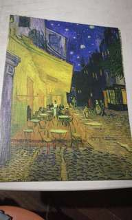 poster painting Cafe terrace on the place du forum vincent van gogh