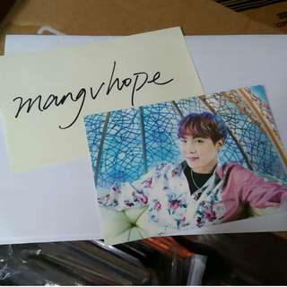 btsphotocard jhope official