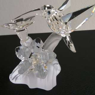 63 Swarovski Crystal - Humming Bird