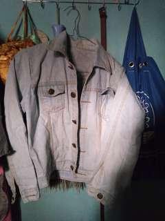 Jaket jeans free ongkir