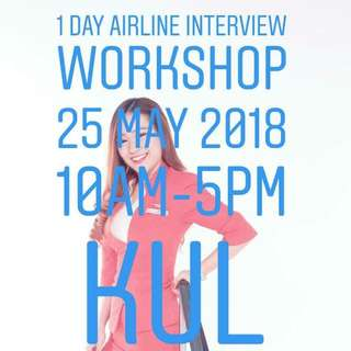 1 DAY AIRLINE INTERVIEW WORKSHOP