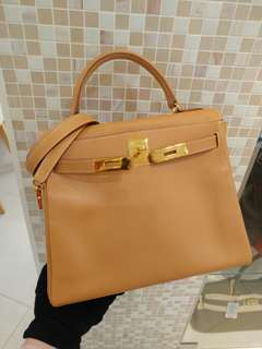 Hermes kelly 28 epsom natural