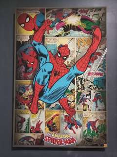 Wall deco - comic printing frame
