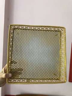 Gold Dulang/Tray for Engagement/Wedding