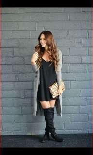 Dress+Gray Blazer