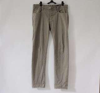 H&M Khaki Pants W32 Slim Fit (ORIGINAL)
