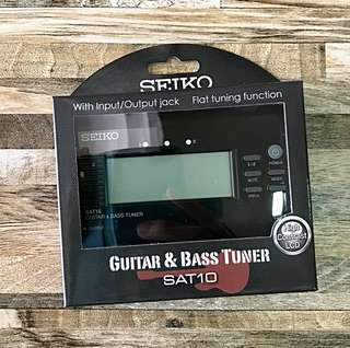 Usual $28 now $12 - Precise Guitar & Bass Tuner (Free Postage)